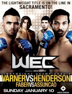 WEC 46 Predictions.