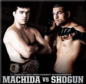 Machida vs Shogun 2 set for UFC 113